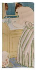 Woman Bathing Beach Towel
