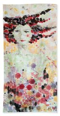 Woman Of Glory Beach Towel