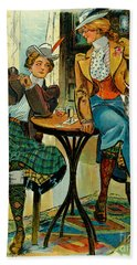 Woman's Club 1899 Beach Sheet by Padre Art