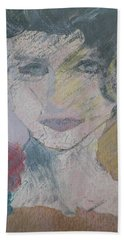 Woman's Portrait - Untitled Beach Towel