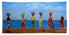 Women Of Africa  Beach Sheet