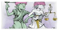 Women's March On Washington Beach Towel