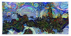 Wonderland Beach Towel