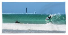 Beach Towel featuring the photograph Wonderwall by Terri Waters