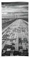 Wood And Pier Beach Sheet