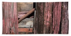 Beach Sheet featuring the photograph Wood And Rod by Karol Livote