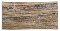 Wood Grain 1 Beach Towel