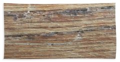 Wood Grain 1 Beach Sheet