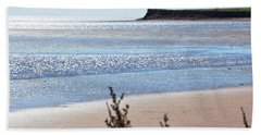 Beach Towel featuring the photograph Wood Islands Beach by Kim Prowse