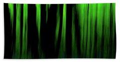 Woodland Abstract Iv Beach Towel