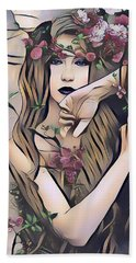 Woodland Nymph Beach Towel