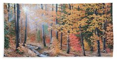 Woodland Trail Beach Towel