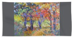 Woodland Walk Beach Towel