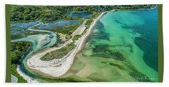 Woodneck Beach Beach Towel