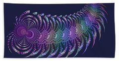 Wooly Caterpillar Haiga Beach Towel