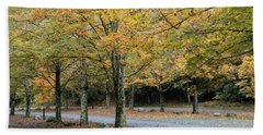 Words End State Park Drive Beach Towel