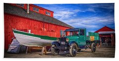 Work Truck, Mystic Seaport Museum Beach Sheet