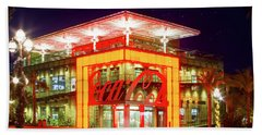 World Of Coca Cola At Disney Springs Beach Sheet