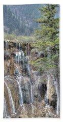 World Of Waterfalls China Beach Towel