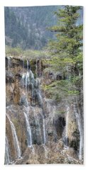 World Of Waterfalls China Beach Towel