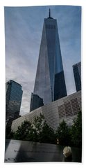 World Trade Center Remember Beach Towel
