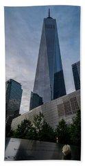 World Trade Center Remember Beach Sheet