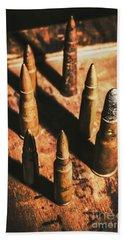 World War II Ammunition Beach Towel