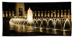 World War Memorial Beach Towel