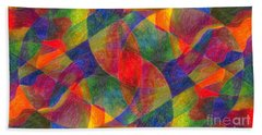 Worlds Within Worlds Beach Towel