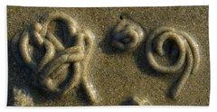 Worm Tapestry Beach Sheet