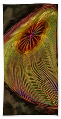 Wormhole In Space Beach Towel