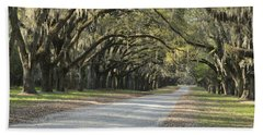 Wormsloe Entrance Road Beach Sheet