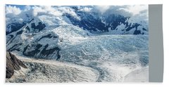 Wrangell Alaska Glacier Beach Towel