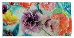 Wrap It Up In Spring By Lisa Kaiser Beach Towel