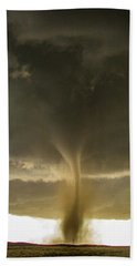 Wray Colorado Tornado 060 Beach Towel