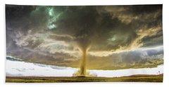 Wray Colorado Tornado 070 Beach Towel