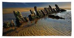 Wreck Cefn Sidan Beach Towel