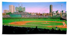 Wrigley Field  Beach Towel