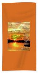 Writer, Artist, Phd. Beach Sheet by Dothlyn Morris Sterling