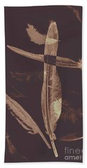 Writers Guild Abstract Beach Towel