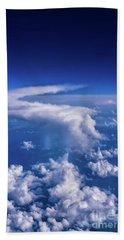 Writing In The Sky Beach Towel