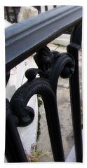 Wrought Iron Fence II Beach Towel