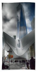 Wtc Oculus - Freedom Tower Beach Sheet