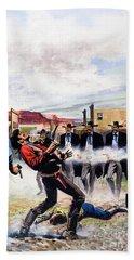 Wyatt Earp And The Battle Of The Ok Corral Beach Towel