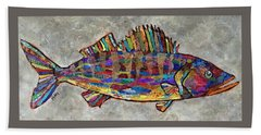 Wylie The Walleye Beach Towel