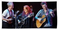 Wynonna Judd In Concert With Hubby Cactus Moser And Band Guitarist Beach Sheet