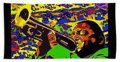 Wynton Marsalis Plays Louis Armstrong Rework Beach Towel