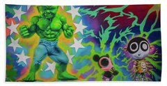 Wynwood Hulk Beach Towel