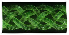 Wyrm - The Celtic Serpent Beach Towel