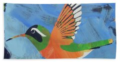 Xantus Hummingbird Beach Towel